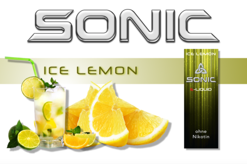 SONIC VAPE ICE LEMON 10ml