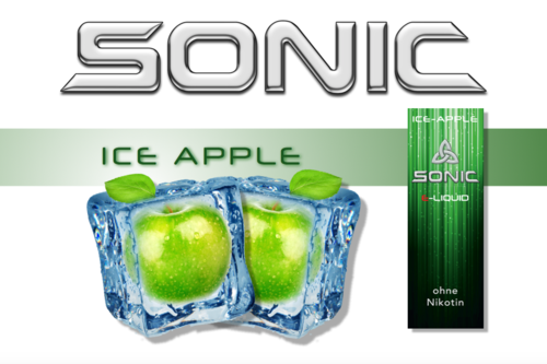 SONIC VAPE ICE APPLE 10ml