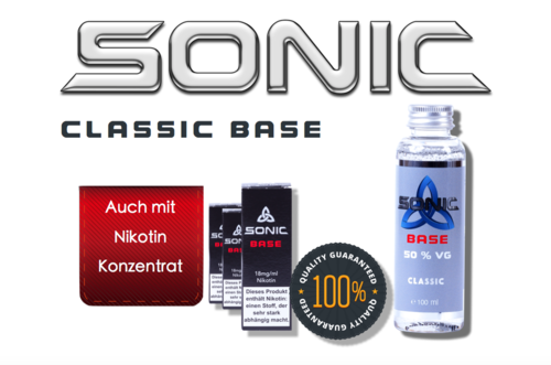 SONIC CLASSIC BASE 100ml - 50 VG