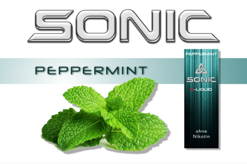 SONIC VAPE PEPPERMINT 10ml
