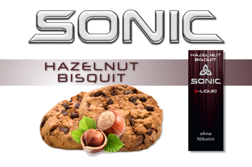SONIC VAPE HAZELNUT BISQUIT 10ml