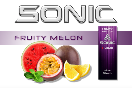 SONIC VAPE FRUITY MELON 10ml