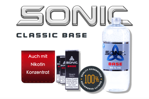 SONIC CLASSIC BASE 1000ml - 50 VG