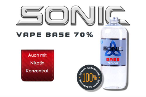 SONIC VAPE BASE 1000ml - 70 VG