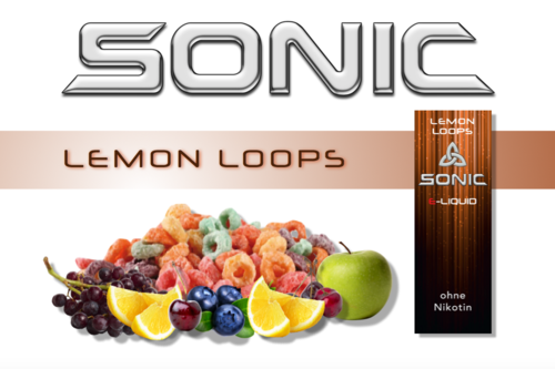 SONIC VAPE LEMON LOOPS 10ml
