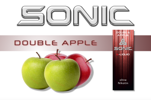 SONIC VAPE DOUBLE APPLE 10ml