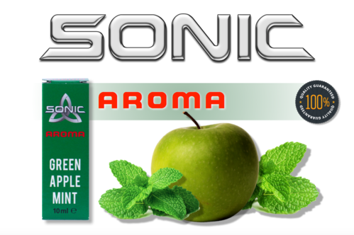 SONIC AROMA GREEN APPLE MINT