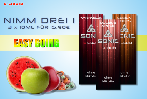SONIC VAPE PAKET EASY GOING