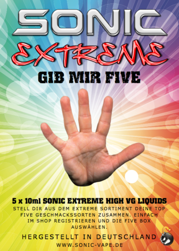 SONIC EXTREME FIVE BOX MIX 50ml